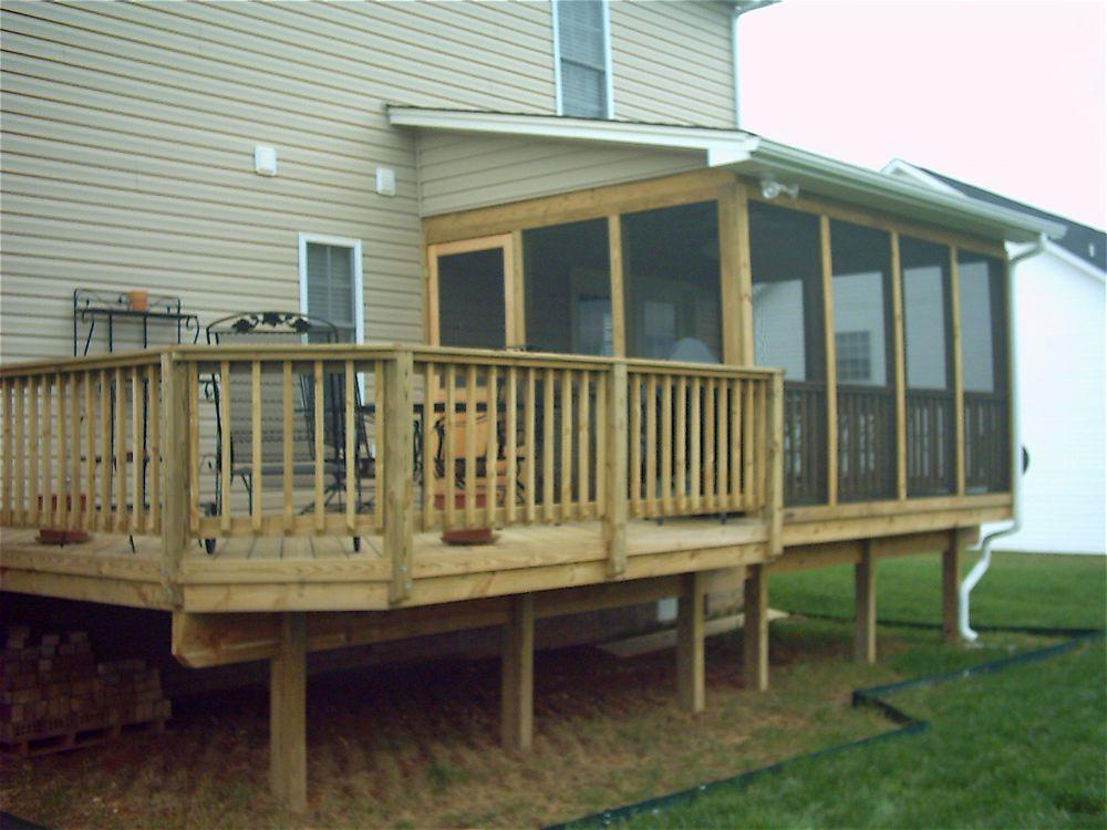 Lynchburg Deck Builder The Southern Porch Company Deck