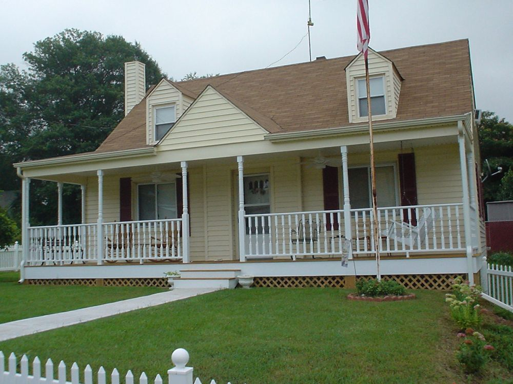 front porches lynchburg the southern porch company On exterior porch