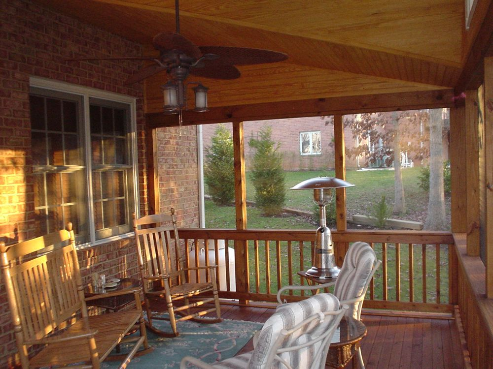 Front Porch Uk >> Screened Porches Lynchburg | The Southern Porch Company