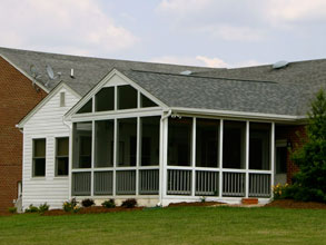 A Screened Porch Addition By The Southern Company Is Great Way To Add Usable Out Door Living E Your Home
